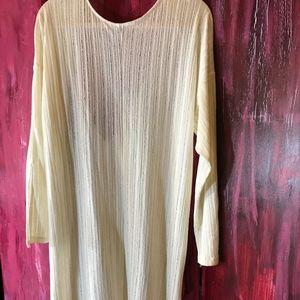 Zara Midi Knit Dress with deep V-back